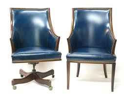Blue Leather Armchair Blue Leather Office Chair 3 Amazing Decoration On Blue Leather