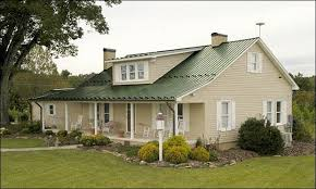 exterior house colour schemes with green roof google search