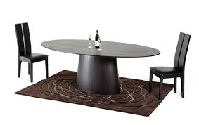 modern wenge oval dining table