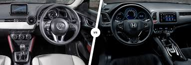 mazda cx3 interior mazda cx 3 vs honda hr v crossover clash carwow