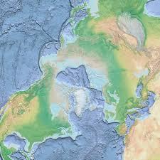 Arctic Ocean Map Arctic Ocean Basemap