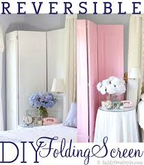 How To Make A Curtain Room Divider - diy how to make a decorative folding screen in my own style