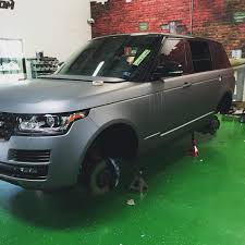 matte range rover range rover color change with avery dennison matte metallic