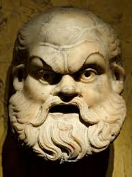 silenus the happy drunk from ancient greece that taught dionysus