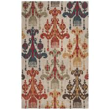spice red rugs luxe home company