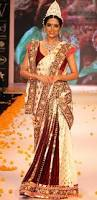 Lehenga Style Saree Draping 12 Styles To Drape Dupatta On Your Wedding Looksgud In