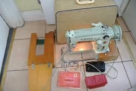 singer 29k15 cylinder arm boot patcher or cobblers industrial