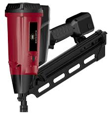 Battery Roofing Nailer by Cordless Clipped Head Gas Nailer U2013 Mon Gsn34 90 Ce Young Black