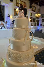 tiered wedding cakes 6 tiered wedding cake pink lemonade bakery