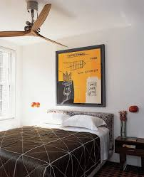 Contemporary Canopy Bed Austin Caged Ceiling Fan Bedroom Contemporary With Dark Brown