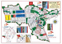 1 8 Maps Bahria Town Rawalpindi Maps
