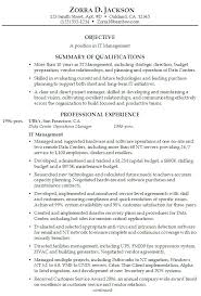 career summary statement exles accounting software good summary for a resume inssite