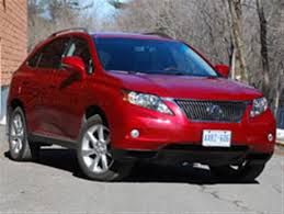 lexus rx 350 canada made in canada 2010 lexus rx 350 and acura mdx part two autos ca