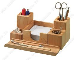 organiseur de bureau en bois organiseur de bureau