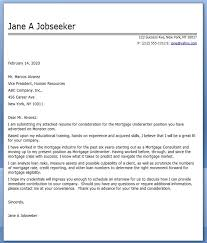 loan officer sample resumes cover letter examples for it