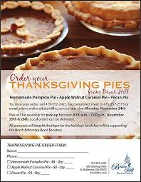 thanksgiving pie fundraiser for nbhs boosters thenbxpress