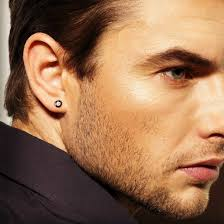diamond earrings on guys real diamond stud earrings for men mens diamond studs black