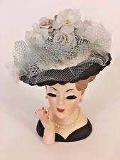 Napco Lady Head Vase Vintage Lady Head Vase Headvase Planter Lana Turner Napco C3343a