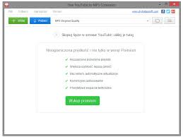 download youtube in mp3 free youtube to mp3 converter 4 1 76 507 download pobierz za darmo