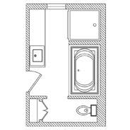 X  Bathroom Design Adoring Home Sweet Home Pinterest - 6 x 6 bathroom design