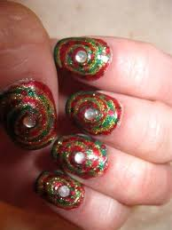 picture 5 of 5 simple easy christmas nail design ideas photo
