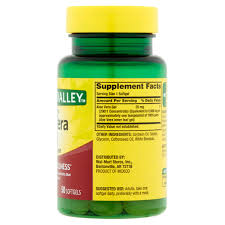 spring valley aloe vera softgels 25 mg 50 ct walmart com