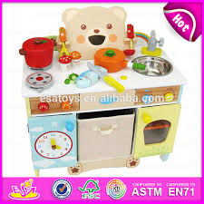 childrens wooden kitchen furniture newest design kids cooking play wooden toy kitchen play set for