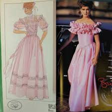 1980s prom you made a prom dress