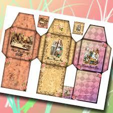 alice in wonderland 3 whimsical tea bag sleeve templates u0026