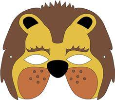 lion mask leo the lion mask pattern one size fits most children and some