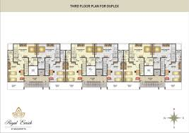 Row House Floor Plans Wonderful Apartment Floor Plans India On Design U Ideas