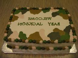 camoflauge cake camouflage baby shower cakes 6 camo themed baby shower cake