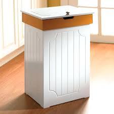 standard kitchen trash bin size simplehuman 50l slim steel open