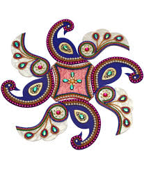 Creative Home Decorations 10 Off On Creative Home Decor Peacock Rangoli Acrylic On Snapdeal