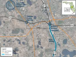 Map Central Florida by Fastlane Grant Application Central Florida Freight Corridor
