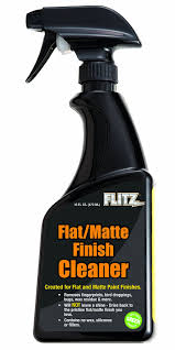 amazon com flitz fm 11506 flat matte finish cleaner 16 oz spray