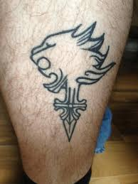 got my lionheart tattoo done today would love to see how other u0027s