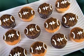 football cupcakes football cupcakes