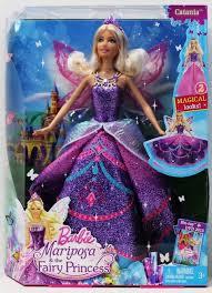 barbie mariposa fairy princess catania doll