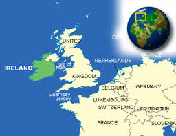 Map Of Germany And Surrounding Countries by Ireland Facts Culture Recipes Language Government Eating