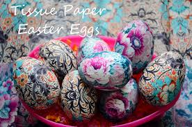 paper easter eggs monthly diy tissue paper easter eggs citizen erased photography