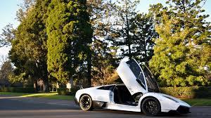 Lamborghini Aventador Open Door - white lamborghini aventador with open doors hd desktop wallpaper