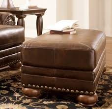 Durablend Leather Sofa Durablend Traditional Antique Leather Sofa W Cushion Back Living