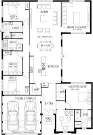 the kartika four bed entertainers home design plunkett homes