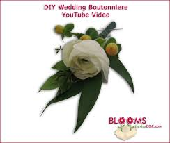 Wedding Boutonniere How To Make A Wedding Boutonniere Video Tutorial