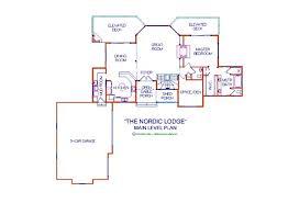 log lodge floor plans nordic lodge log floor plan log cabin 3384 sq ft expedition