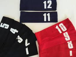 number 1 headband cotton headbands with jersey numbers trendsetters store