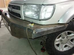 homemade jeep bumper my first plate bumper build toyota 4runner forum largest