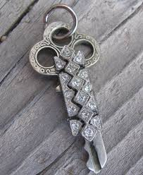 vintage key pendant necklace images 236 best altered art keys images jewelry ideas key jpg
