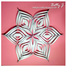 diy paper snow star crafty pinterest diy paper snow and craft
